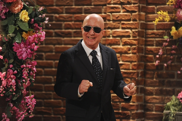 Musical director and musician Paul Shaffer