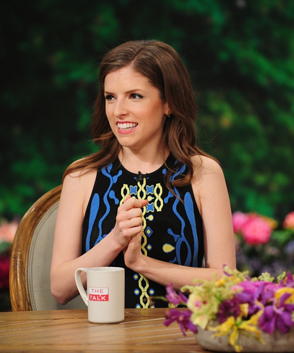 "Anna Kendrick talks ""Pitch Perfect 2"""