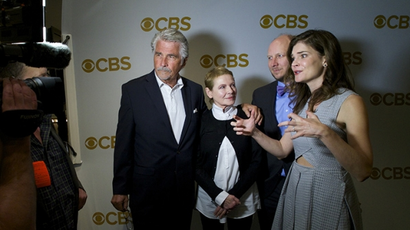 James Brolin, Dianne Wiest, Dan Bakkedahl, and Betsy Brandt on the red carpet.