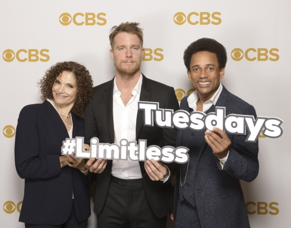 Mary Elizabeth Mastrantonio, Jake McDorman, and Hill Harper - Limitless