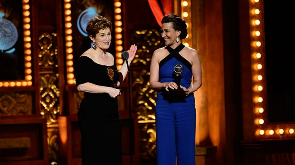 Best Book Of A Musical and Best Original Score Of A Musical: Jeanine Tesori and Lisa Kron, Fun Home
