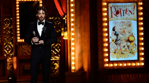 Featured Actor In A Musical: Christian Borle, Something Rotten!