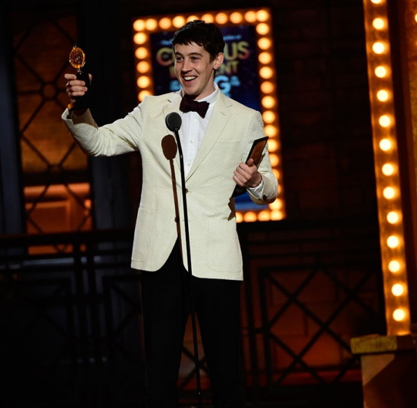 Lead Actor In A Play: Alex Sharp, Curious Incident Of The Dog In The Night-Time