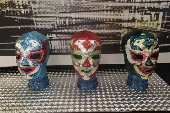 9. In case things get real, there are Mexican wrestling masks