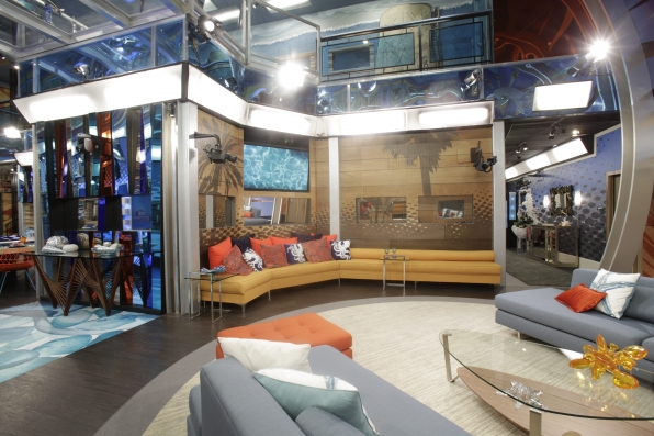 Big brother 1 house layout