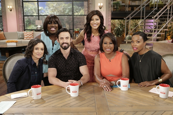 "Milo Ventimiglia visted to talk about ""The Whispers"""