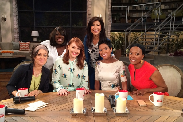 "Bryce Dallas Howard visited to discuss ""Jurassic World"""