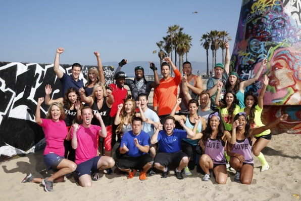 Venice Beach welcomes the new cast of The Amazing Race
