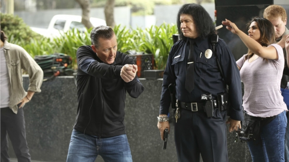 Robert Patrick as Agent Cabe Gallo with special guest Gene Simmons