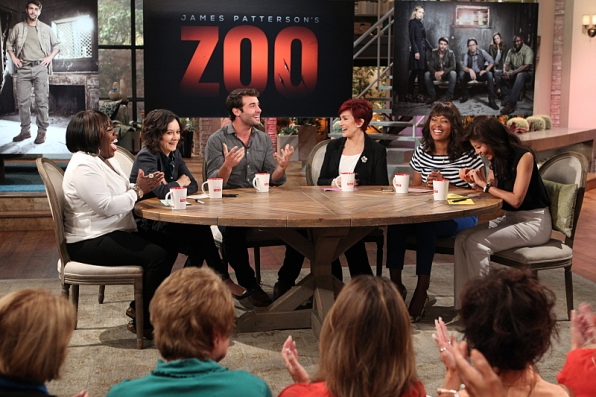 "James Wolk from CBS's ""Zoo"" visited"