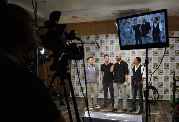 Director Marc Webb, Actor Jake McDorman, Executive Producer And Director Craig Sweeny, And Actor Hill Harper
