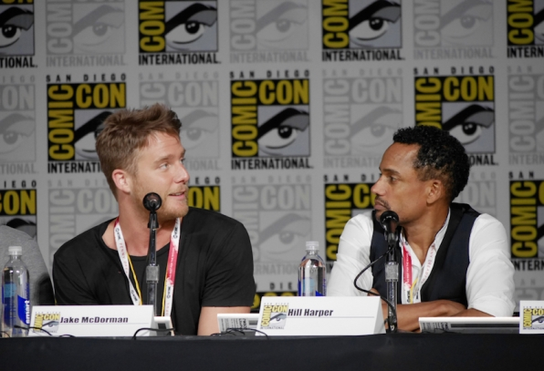 Actors Jake McDorman And Hill Harper
