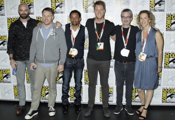 Executive Producer And Director Craig Sweeny, Director Marc Webb, Actors Hill Harper And Jake McDorman, And Executive Producers Alex Kurtzman And Heather Kadin
