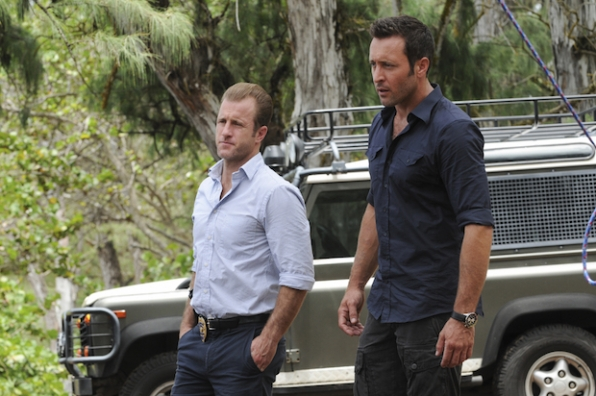 "Scott Caan as Danny ""Danno"" Williams, and Alex O'Loughlin as Steve McGarrett"