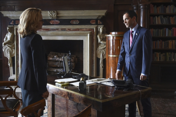 Elizabeth has a tense meeting with Anton Gorev