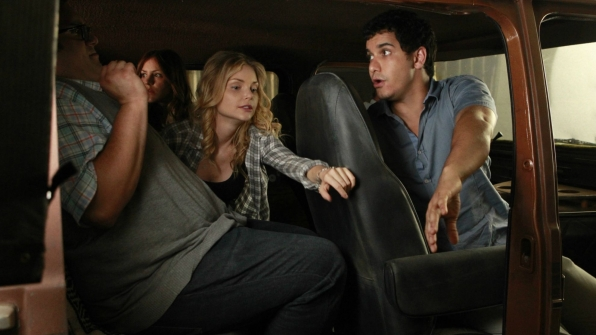 Ari Stidham as Sylvester Dodd, Katharine McPhee as Paige Dineen, Elyes Gabel as Walter O'Brien