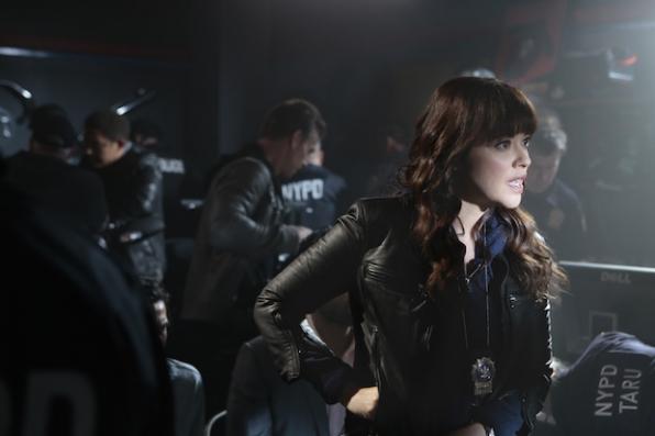 Marisa Ramirez as Det. Baez.