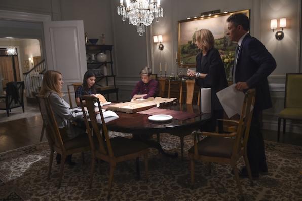 Elizabeth deals with family politics