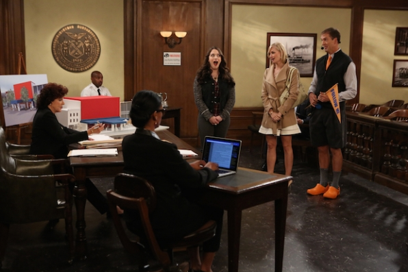Max and Caroline are stunned by the courtroom ruling