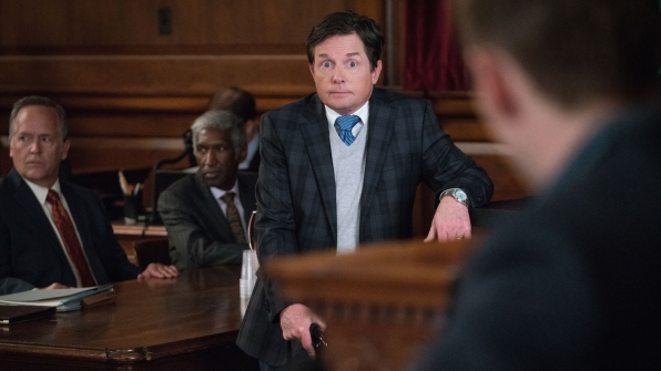 Michael J. Fox as Louis Canning