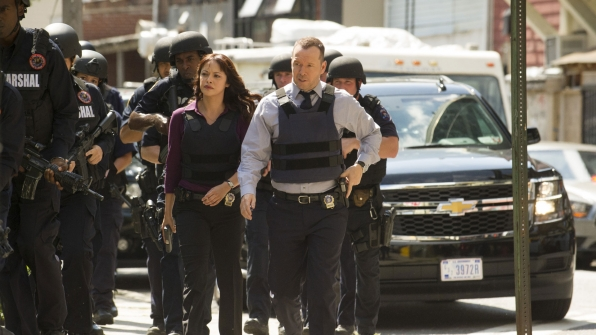 Marisa Ramirez as Maria Baez and Donnie Wahlberg as Danny Reagan