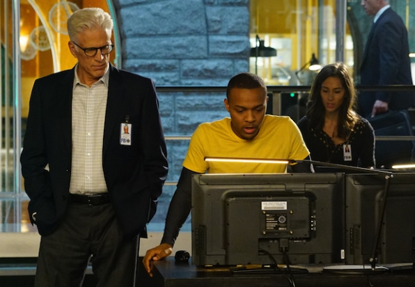 D.B. Russell on CSI: Cyber