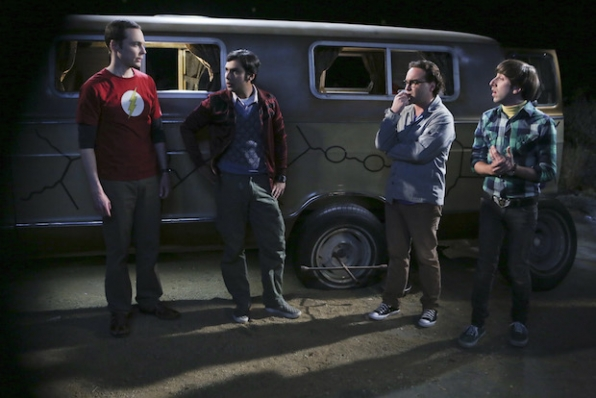 Sheldon, Raj, Leonard, and Howard get stranded in Mexico