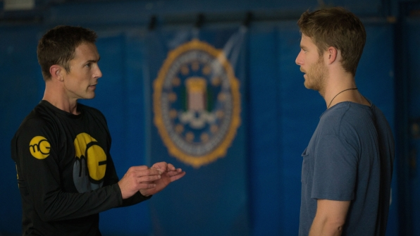 Desmond Harrington as Casey Rooks and Jake McDorman as Brian Finch