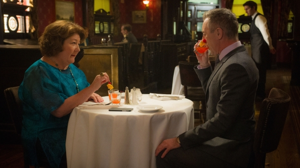 Margo Martindale as Ruth Eastman and Alan Cumming as Eli Gold