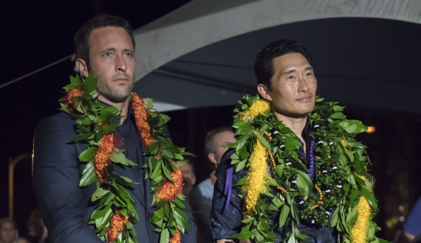 Alex O'Loughlin And Daniel Dae Kim