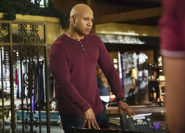 LL COOL J as Sam Hanna