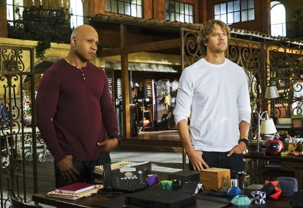 LL COOL J as Sam Hanna and Eric Christian Olsen as Marty Deeks