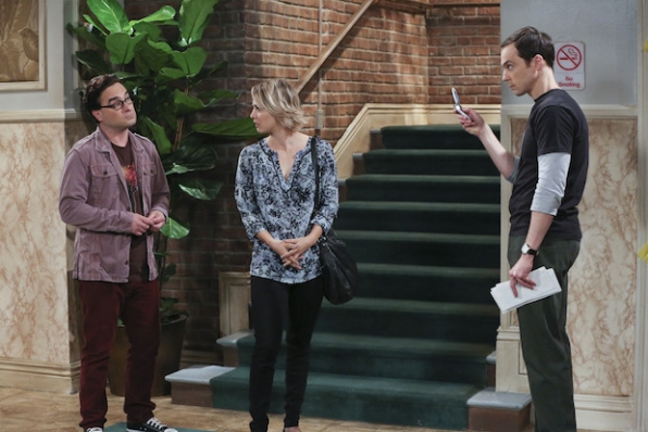 Sheldon reveals his solution to Leonard moving out of their apartment
