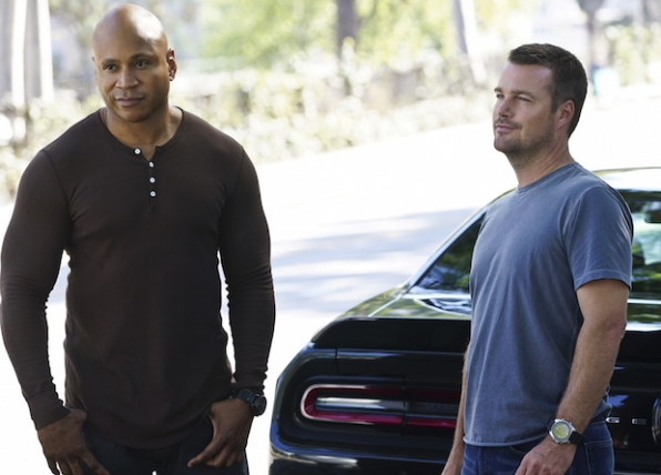 LL COOL J as Sam Hanna and Chris O'Donnell G. Callen