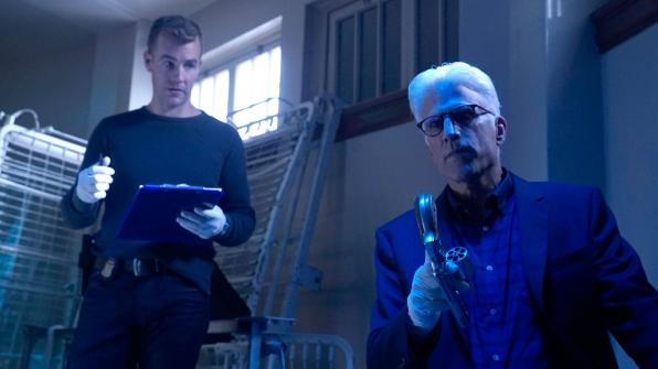 James Van Der Beek as Agent Elijah Mundo and D.B. Russell as Ted Danson
