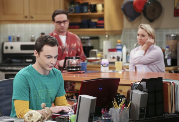 Sheldon tries his hand at online dating.
