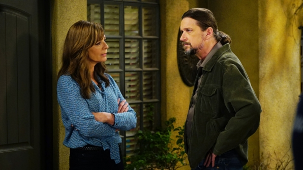 Bonnie hesitates when Steve suggests taking their relationship to the next level.