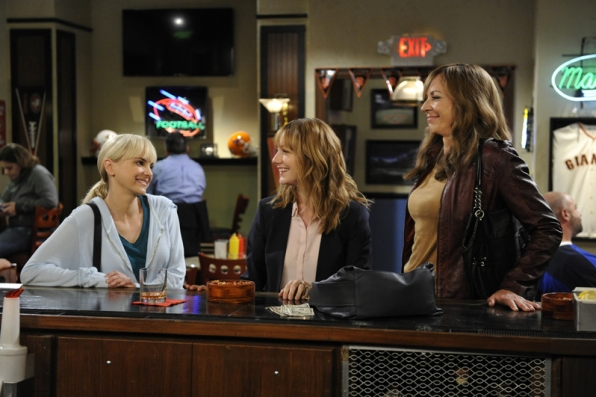 Christy and Bonnie try to convince Michelle there's no reason to drown her sorrows