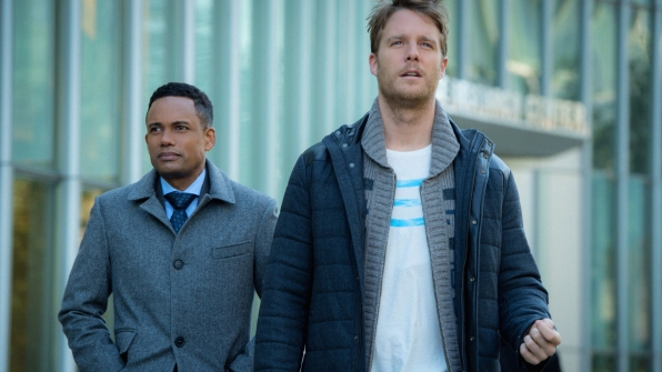 Hill Harper as Agent Spelman Boyle and Jake McDorman as Brian Finch