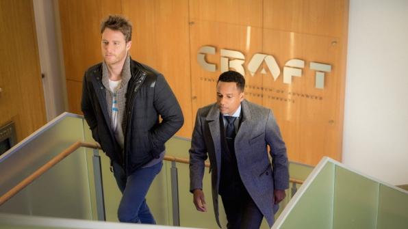 Jake McDorman as Brian Finch and Hill Harper as Agent Spelman Boyle