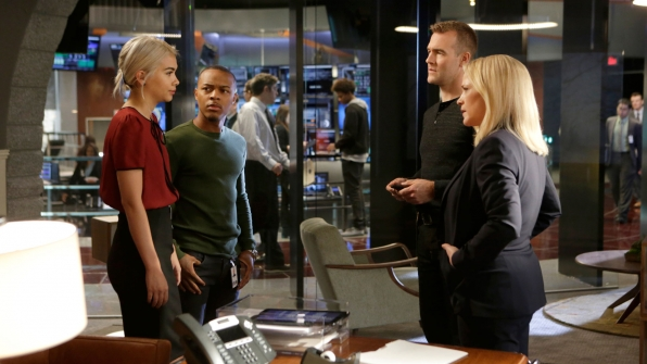 Hayley Kiyoko as Raven Ramirez, Shad Moss and Brody Nelson, James Van Der Beek as Agent Elijah Mundo, and Patricia Arquette as Agent Avery Ryan