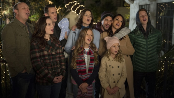 The entire family comes together for a Christmas miracle—and a bout of naughty caroling.