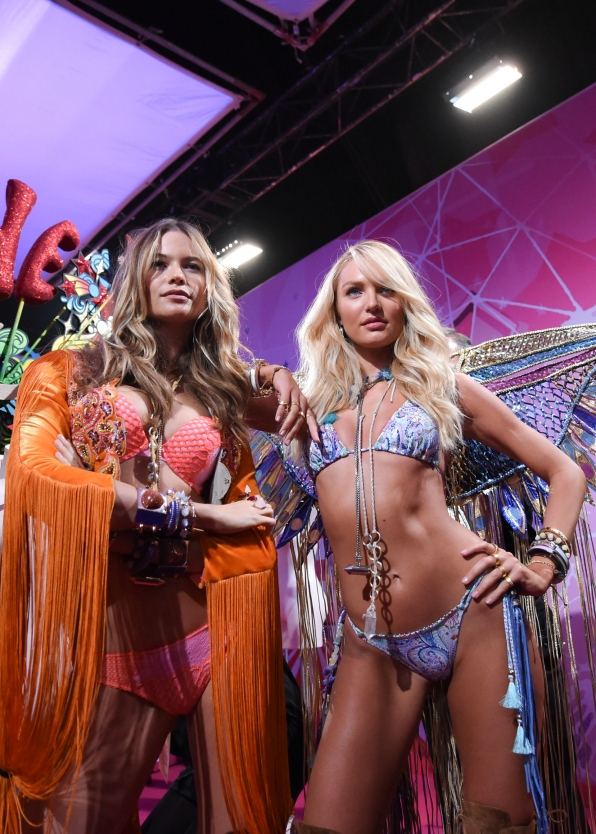 Angels Behati Prinsloo and Candice Swanepoel scream sexiness