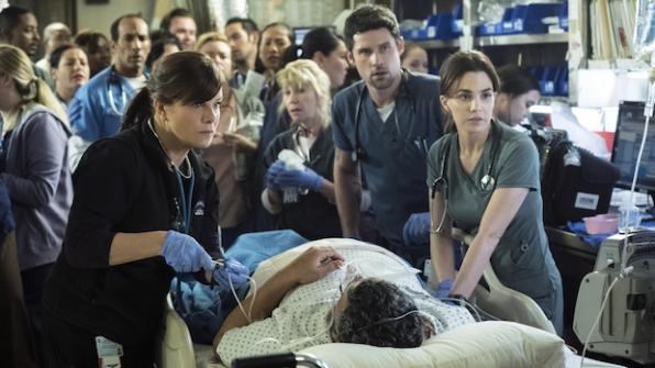 Code Black: Leanne and the Trauma One team save Mama's life.