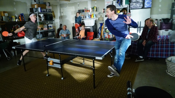 Life in Pieces: Greg vs. Matt in ping pong