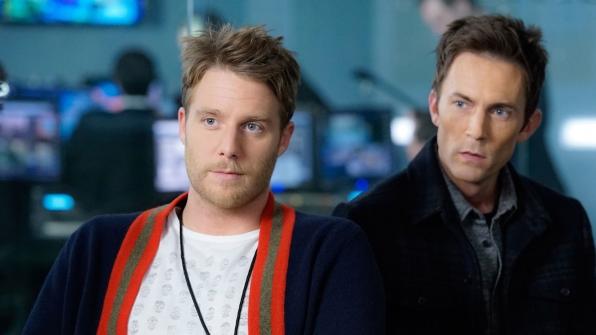 Jake McDorman as Brian Finch and Desmond Harrington as Agent Casey Rooks