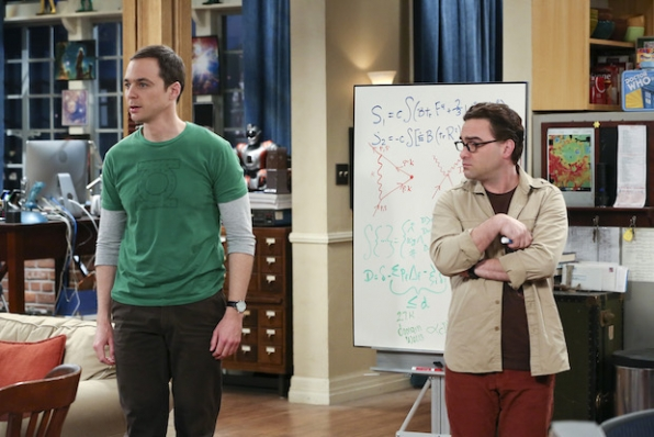 Sheldon stops everything when he has a game-changing revelation