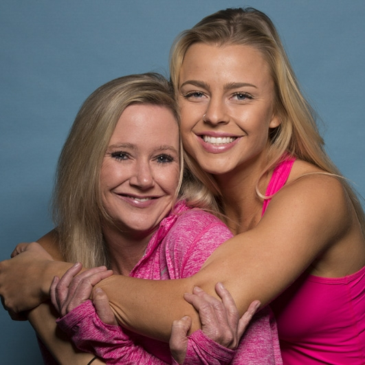 Marty Cobb and Hagan Parkman: Mother and daughter