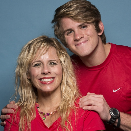 Sheri and Cole LaBrant: Mother and son