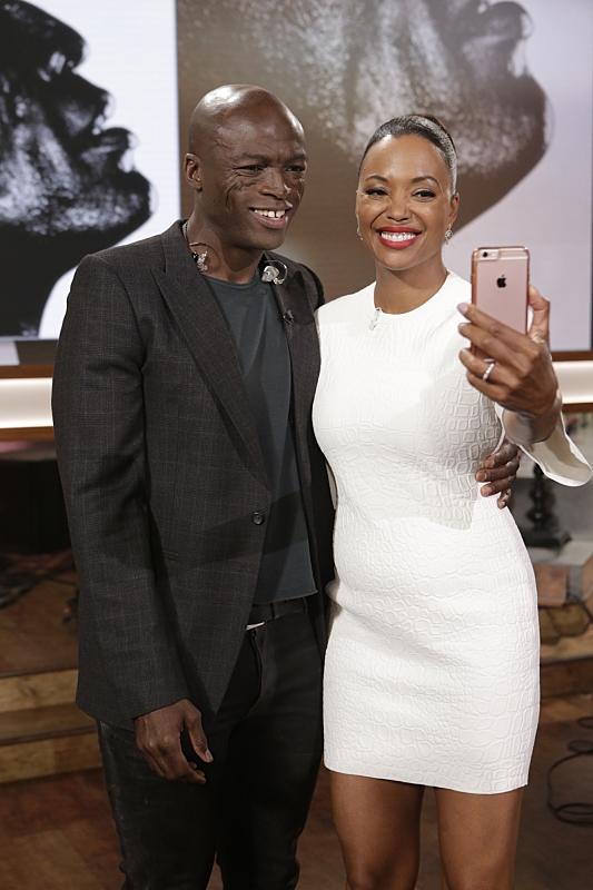 Seal and Aisha Tyler
